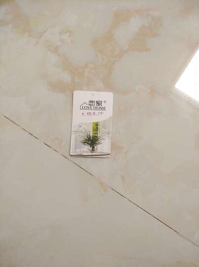 恋家 浴室地板拖情侣居家拖鞋女士 西瓜红 39码 LJ82011 晒单图