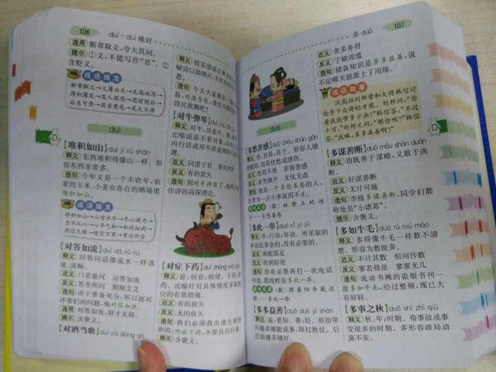 小学生多功能英汉汉英词典 彩图版新课标专用辞典实用必备书籍 1-6年级分类英语汉语牛津互译 晒单图
