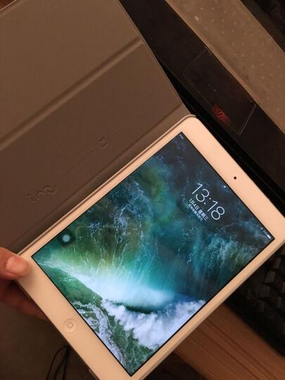 幻响(i-mu)苹果iPad mini2/3/1保护套/壳 防摔支架 智能休眠皮套 彩绘系列 埃菲尔铁塔 晒单图