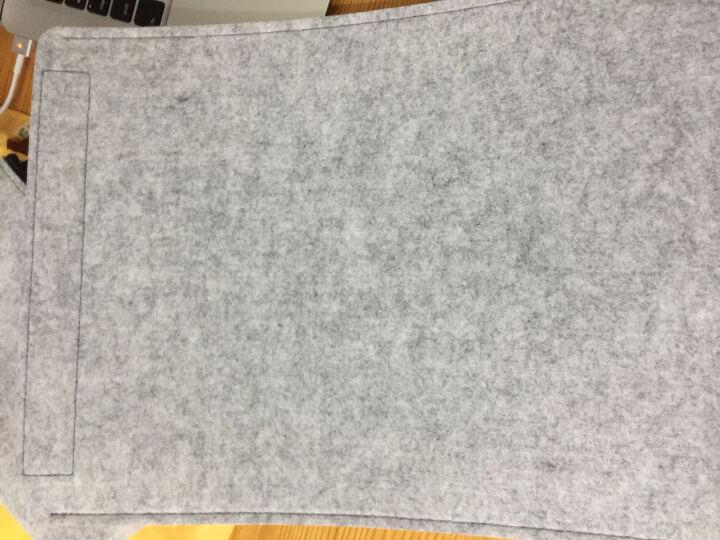 ACE COAT 苹果Air电脑包mac Pro内胆包防摔毛毡包Macbook保护套布袋 随行系列 深灰 Mac Air 13.3英寸 晒单图