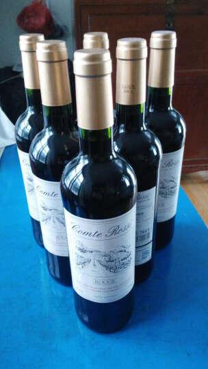 法国进口红酒 小卡丽勒 PETIT CAILLOU干红葡萄酒 750ml*2瓶 双支带酒具黑色皮礼盒 晒单图
