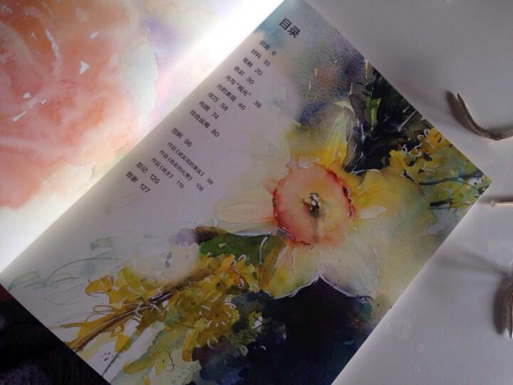 正版全新 简海恩斯的水彩光色瞬间 水彩画技法手绘临摹素材基础教程书籍从入门到精通 小X 晒单图
