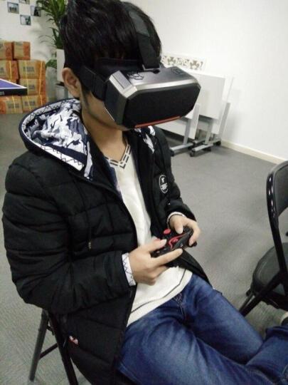 绘客V9  vr眼镜一体机智能3D虚拟现实手机电脑游戏头盔可调瞳距 1K屏+内存卡+赠品 晒单图