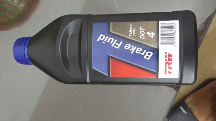 天合TRW刹车油 制动液 DOT4 1LPFB401英国原装进口干沸点270℃,湿沸点163℃ 晒单图