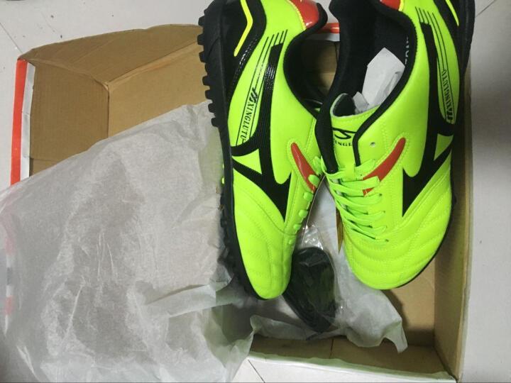 【赠足球袜】足球鞋碎钉TF/AG长钉男子比赛训练钉鞋成人男女青少年儿童足球鞋 163荧光绿-长钉 (促销) 35 晒单图