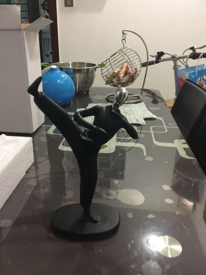 风宇阳光   艺术品摆件 足球 创艺家居客厅装饰品时尚简约运动摆件书房现代人物抽象工艺 乒乓球手 晒单图