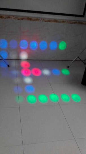 创安达 LED图案灯 KTV包房舞台灯光 激光镭射灯 闪光灯爆闪灯舞厅酒吧彩灯光束灯 元旦节氛围彩灯 晒单图