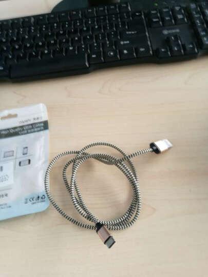 Capshi Type-C数据线 安卓手机充电器线 麻绳1米金 支持华为P10/mate9/荣耀V8/麦芒5/三星S8/小米5S6乐视 晒单图