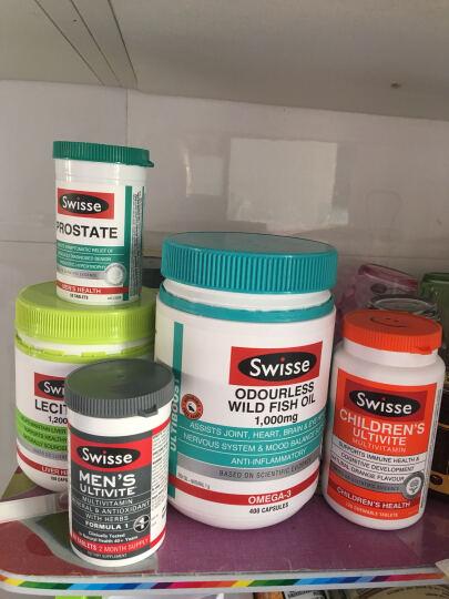 澳洲原装进口Swisse大豆卵磷脂胶囊 调节三高 降血压降血糖降血脂 1200mg150粒 晒单图