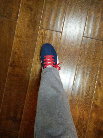 李宁 休闲鞋男鞋17年秋冬季透气经典防滑男子旅游复古时尚运动鞋XY 红色113 42码9(265mm) 晒单图