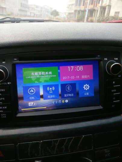 九音安卓声控比亚迪F3/F3R/F0专用导航仪车载dvd导航一体机 13款至以下CE系统F3/F3R 导航主机+送12灯后视+不包安装 晒单图