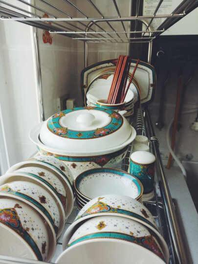 餐具套装46头景德镇陶瓷欧式碗碟套装盘子碗筷