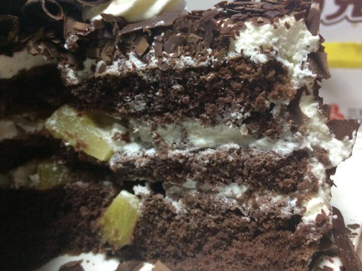 味多美 巧克力奶油蛋糕 生日聚会蛋糕 情人恋人蛋糕 经典黑森林 直径100cm 晒单图