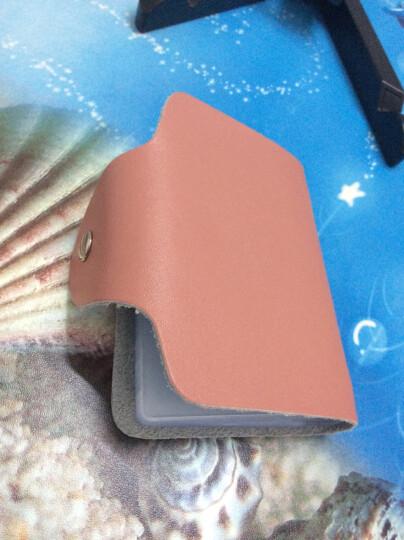 梓林ZILIN真皮卡包男女通用多卡位牛皮卡片包 随机色 随机色 粉色 晒单图