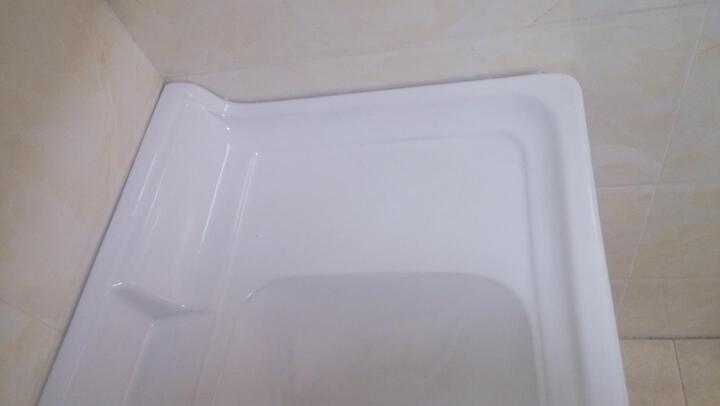 艾戈恋家卫浴 不锈钢浴室柜 洗脸盆柜组合洗手盆 卫生间洗手台洗漱台7226 60CM金丝楠 【送龙头配件】 晒单图
