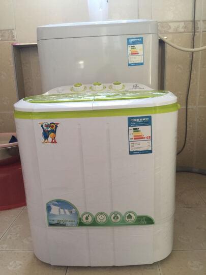 小鸭 2.2公斤小型半全自动波轮迷你洗衣机 母婴儿童宝宝家用小双缸半自动 XPB22-2822S  晒单图