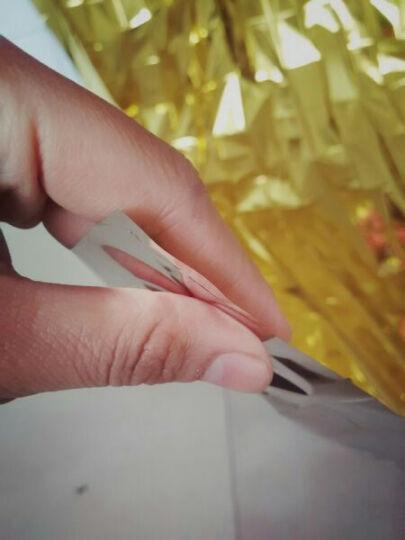 地震应急包 户外野外生存常备 金银色急救毯救生毯保温毯防晒毯 银色(大号160*210) 其他 晒单图