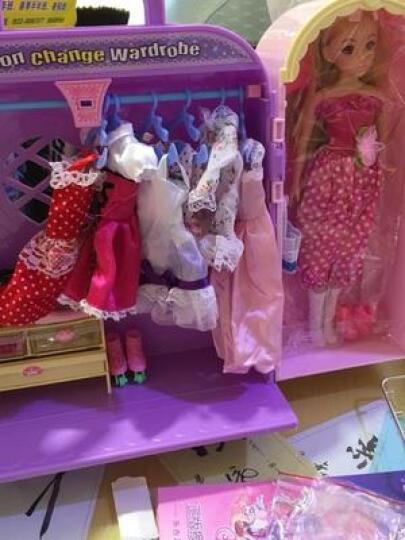 乐吉儿 换装娃娃套装大礼盒 公主娃娃过家家玩具屋 女孩洋娃娃玩具 蝴蝶仙子 (小) H28C 晒单图