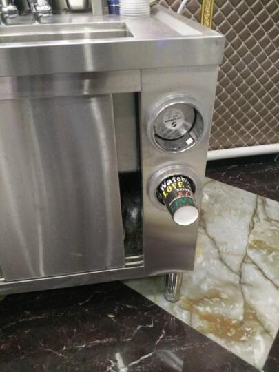 乐创(lecon) 操作台冰柜冷柜水吧台奶茶店工作台不锈钢酒吧商用设备定做厨房冷藏冷冻 1.2米 晒单图