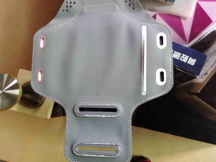 运动手臂包户外男女士健身训练跑步手机腕包触屏臂套苹果6plus臂带 荧光色大号适合5.5英寸以下的 晒单图