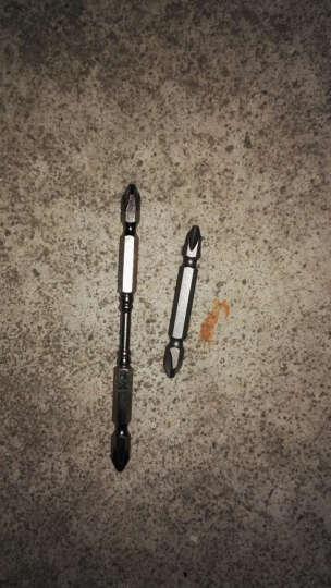 波盾 双截棍气动螺丝刀头  风批咀 起子头 批头 风批头 气批头 65mm/110mm风批刀头 D1型65mm(单支) 晒单图