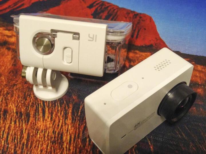 小蚁(YI)4K运动相机(白色)智能摄像机 户外航拍潜水防抖相机 遥控相机 晒单图