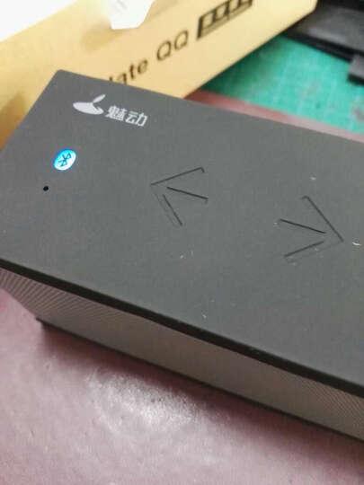 魅动巧克力QQ4蓝牙音箱 插卡电脑音响无线低音炮便携式手机 黑色QQ巧克力 晒单图