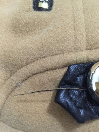 莎德妮牛仔外套女2017春夏装新款韩版短外套上衣女休闲针织衫女开衫夹克薄风衣女防晒棒球服 蓝色 L 晒单图