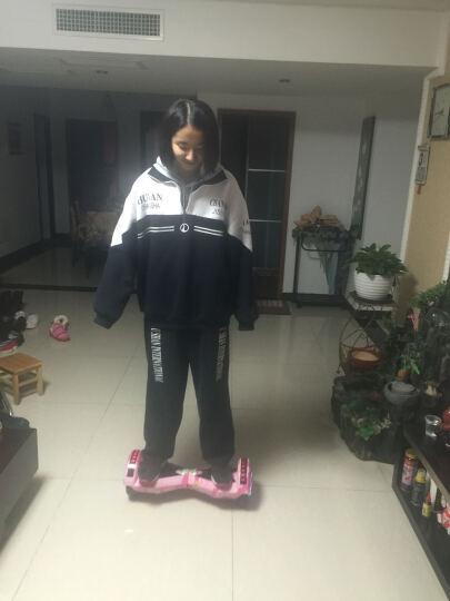 傲凤(AOFENG) 傲凤平衡车两轮儿童双轮电动车成人智能代步车 LED轮毂/8吋跑马灯/迷彩粉 晒单图