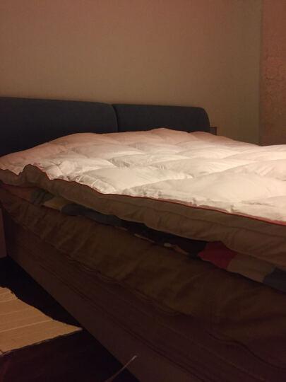 吾家元素床垫床褥子 五星级酒店双层加厚柔软保暖单双人羽绒床垫 榻榻米床护垫被 5公分双层粉色 1.2米床/120*200cm 晒单图