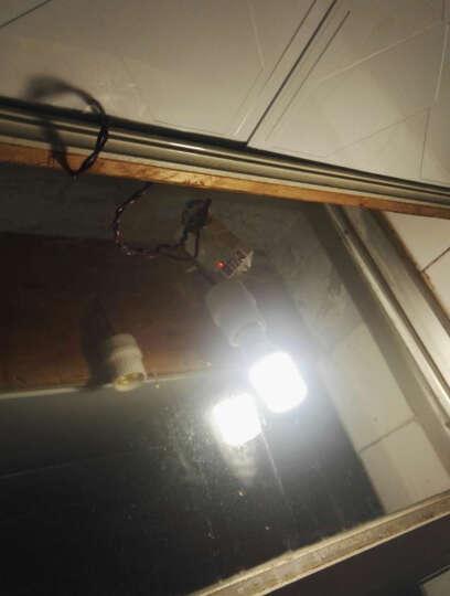 过道汽车车库LED吸顶灯具220V 智能微波雷达感应开关器 人体红外线控制器光控 9800拨码款雷达感应开关 晒单图