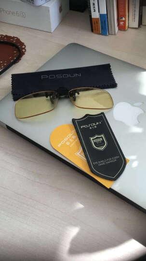 普士盾(POSDUN)R1 办公游戏防蓝光防辐射眼镜夹片 平光镜近视眼镜夹片 晒单图