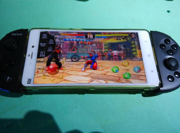 飞智 wee 游戏手柄 苹果安卓手机王者荣耀吃鸡神器绝地求生刺激战场终结者第五人格 Q1键鼠转换器 柠檬绿体感版 晒单图