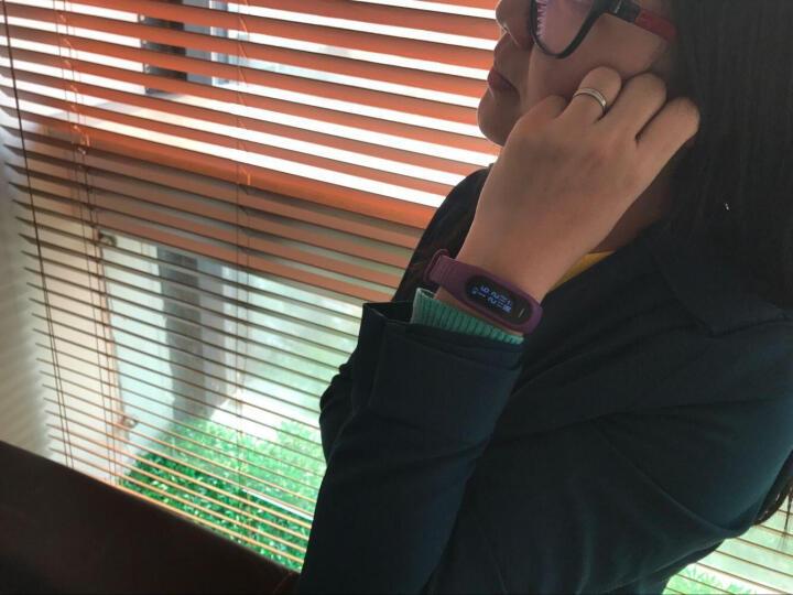 博之轮(BOZLUN)智能手环 男女测血压心率运动手环防水健康计步来电提醒支持小米华为通用 白色光学血压心率版B15P 晒单图