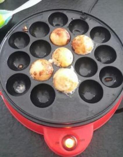 古达 章鱼小丸子机器家用章鱼烧机多功能鱼丸炉鸡蛋仔机器 白色 晒单图