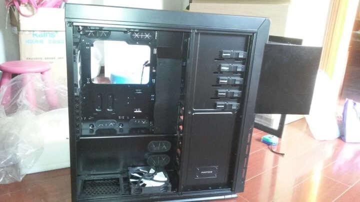 追风者(PHANTEKS) 813P黑色蓝灯专业级水冷电竞电脑机箱(支持双电源/2x480冷排/双路服务器主板/配5风扇) 晒单图