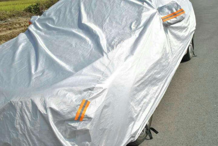 艾可斯 汽车车衣车罩全罩 加厚加绒防雨防晒夏季冬季车套 全罩银灰色-专车专用 马自达3马6昂克塞拉阿特兹 晒单图