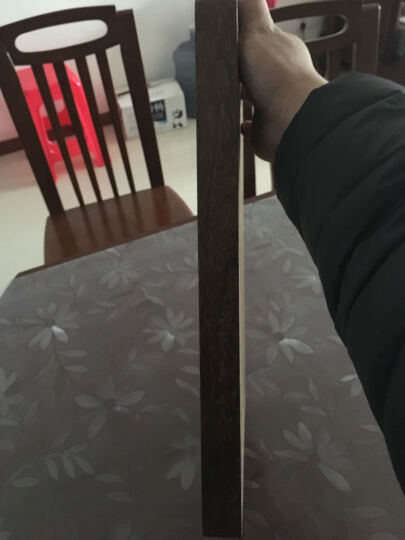 好管家 实木菜板家用鸡翅木砧板长方形红木切菜板厨房案板擀面板厚 送砧板架 +鸡翅木筷(40*30*3cm) 晒单图
