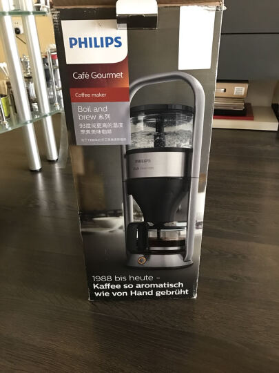飞利浦(PHILIPS)咖啡机家用全自动美式滴滤式咖啡壶带冲煮系统HD5412/00 晒单图