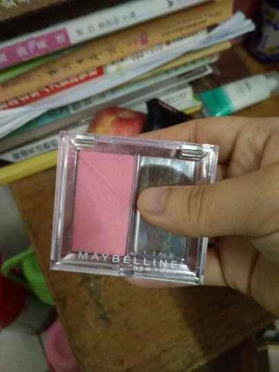 美宝莲(MAYBELLINE)莹透亲颜亮彩腮红 07杏子粉 2g (彩妆胭脂 贴合 自然红润 ) 晒单图