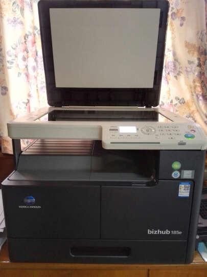 柯尼卡美能达复印机黑白激光A3打印机美能达6180e/7818E/185E扫描A4打印复印一体机商用 185e(无需安装/插粉即用/每分钟18页/黑) 主机+工作台 晒单图