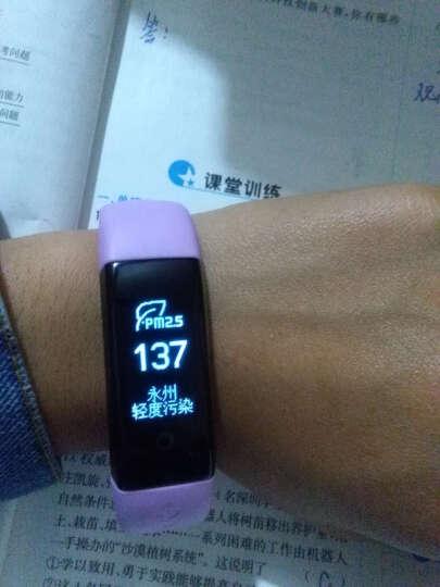DFyou智能手环苹果三星小米男女手表运动手环计步器健康检测ios小米安卓系统 摩登粉 晒单图