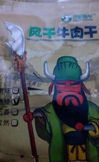 草原犇牛 风干牛肉干 内蒙古特产 休闲零食 孜然味250克 晒单图