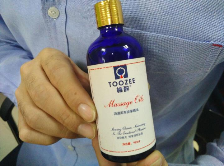 桃醉(Toozee) 人体润滑油 情趣按摩精油 成人 夫妻 情侣全身润滑液推背刮痧男女用 300ML 晒单图