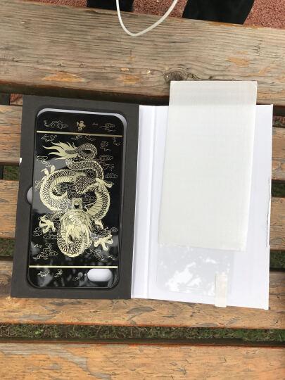 智壳 iphone7手机壳全包金属硬壳防摔手机套 适用于苹果7/7plus 金色美女背影7 4.7英寸 晒单图