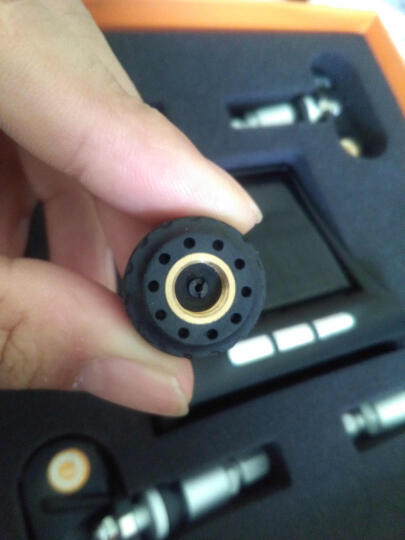 帕萨特胎压监测无线外置内置太阳能TPMS胎压胎温同屏显示 外置黑色胎压 晒单图