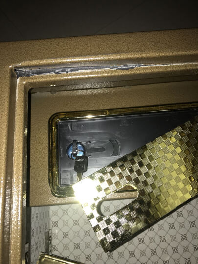 得力(deli)圣骑士系列3C认证防盗保险柜 高62cm家用办公密码保险箱保管箱 33146 晒单图