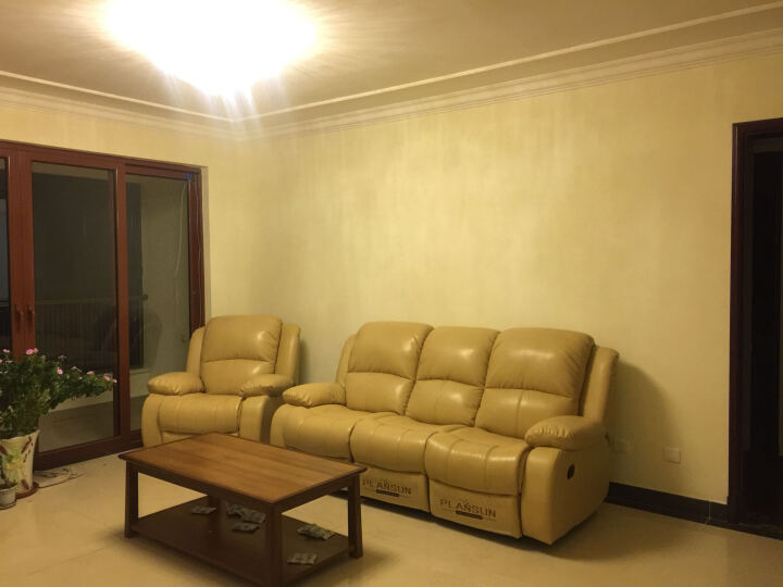 非众客厅家具真皮沙发组合123头层牛皮大小户型沙发太空舱沙发多功能家庭影院电动双人三人沙发 单人位 手动伸展 晒单图