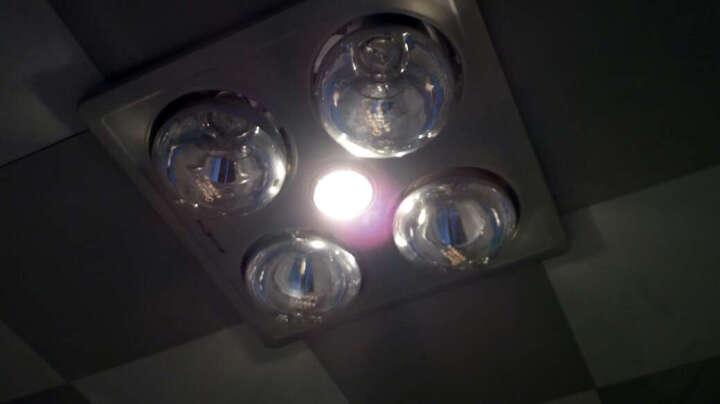 佛山照明(FSL)浴霸照明灯泡防水40W短颈镜面玻璃灯泡 晒单图