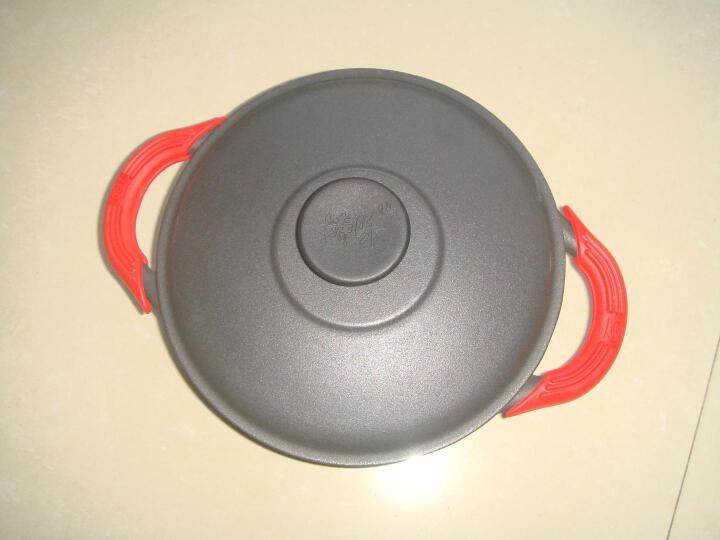 铸味(Jill May) 铸铁锅 珐琅汤锅 加厚铁炖锅 生铁锅 燃气灶电磁炉通用 22cm 容量约2.5L 晒单图